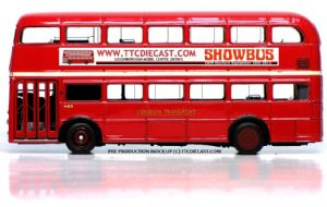 JOTUS FRM1SB 1/76 Front entrance, Rear engine AEC Routemaster. SHOWBUS SPECIAL